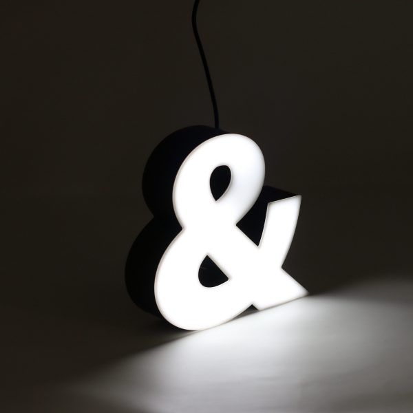 Led lighting symbol Ampersand