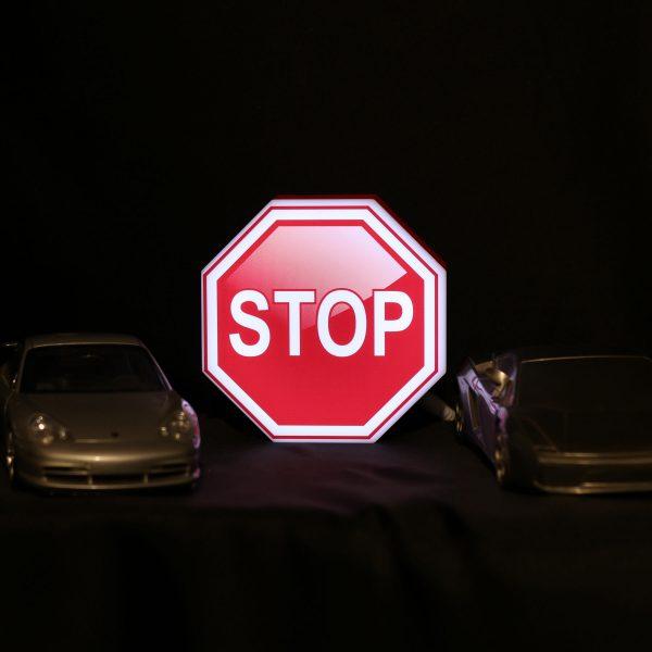 Led lighting symbol Stop
