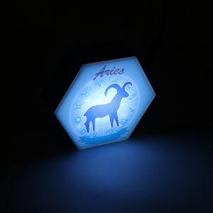 Led lighting Zodiac Sign Aries - color Blue - Boy