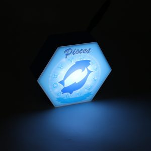 Led lighting Zodiac Sign Pisces - color Blue - Boy