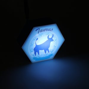Led lighting Zodiac Sign Taurus - color Blue - Boy