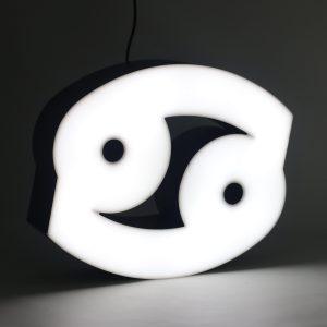 Led lighting Zodiac Sign Cancer