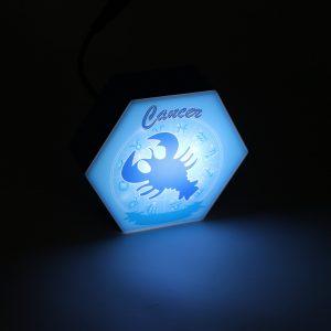 Led lighting Zodiac Sign Cancer - color Blue - Boy