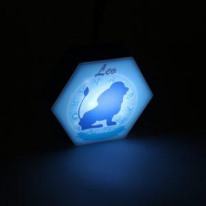 Led lighting Zodiac Sign Leo - color Blue - Boy