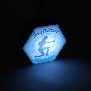 Led lighting Zodiac Sign Sagittarius - color Blue - Boy