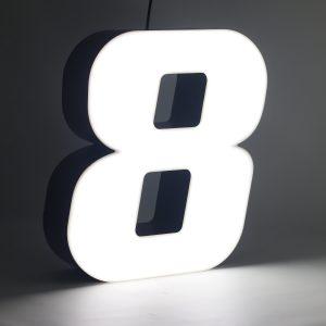 Led lighting number 8