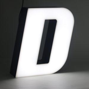 Led lighting letter D