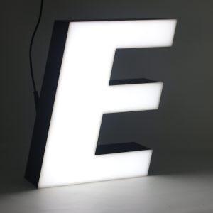 Led lighting letter E