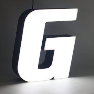 Led lighting letter G