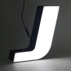 Led lighting letter J