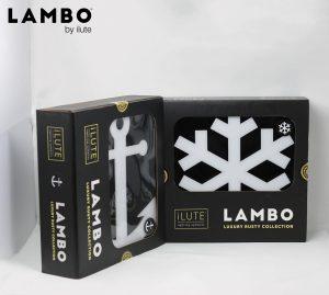 Lambo Symbols decorative LED Lightings Luxury packaging