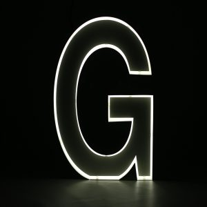 Quizzy Neon Style letter G