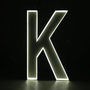 Quizzy Neon Style letter K