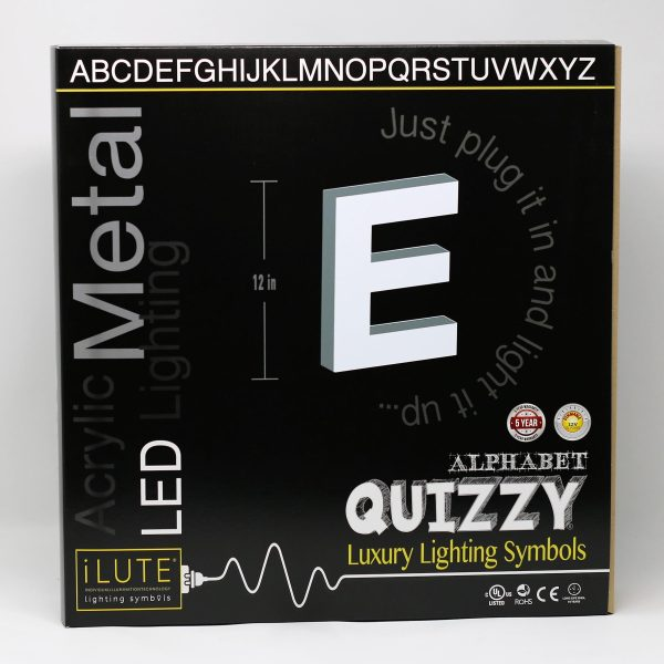 Quizzy collection - Letter E