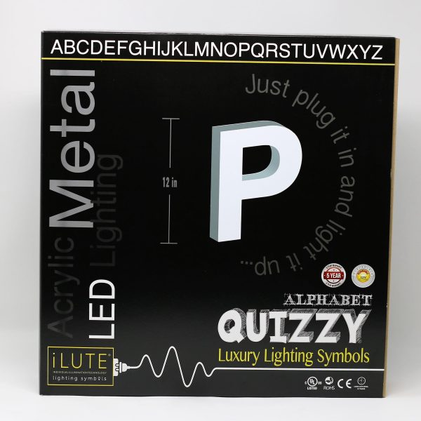 Quizzy collection - Letter P