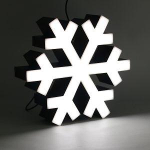 Led lighting symbol Snowflake