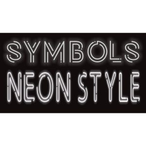 """NEON STYLE"" BIG SYMBOLS"